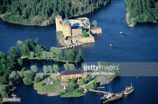 Islands and Lake in Savolinna
