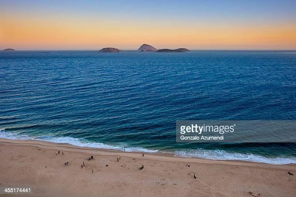 islands in front of ipanema. - palmas tocantins imagens e fotografias de stock