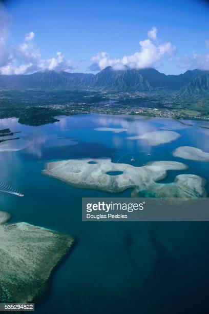 Islands in Kaneohe Bay