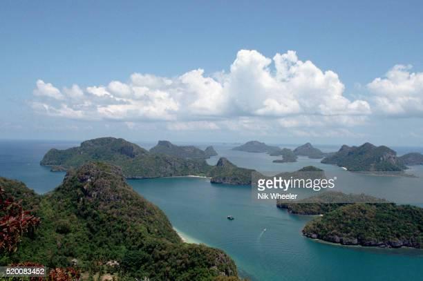 islands in the gulf of thailand - marina wheeler foto e immagini stock