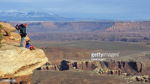 islands in the sky, canyonlands, utah - islands in the sky stock pictures, royalty-free photos & images