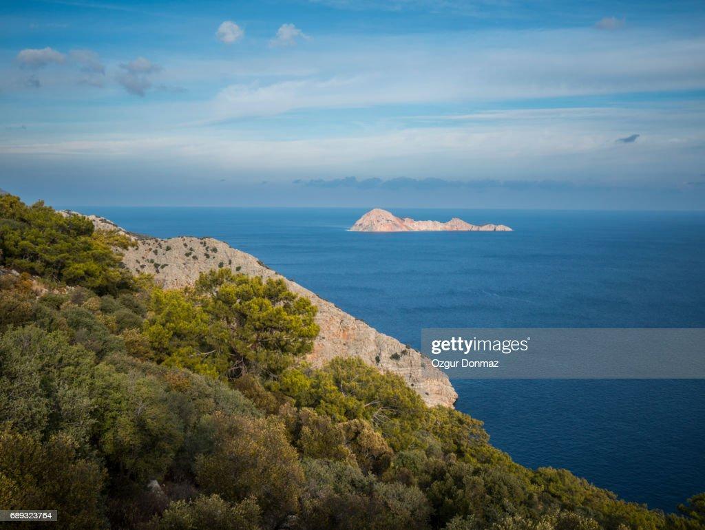 Islands Near Adrasan, Turkey : Stock Photo