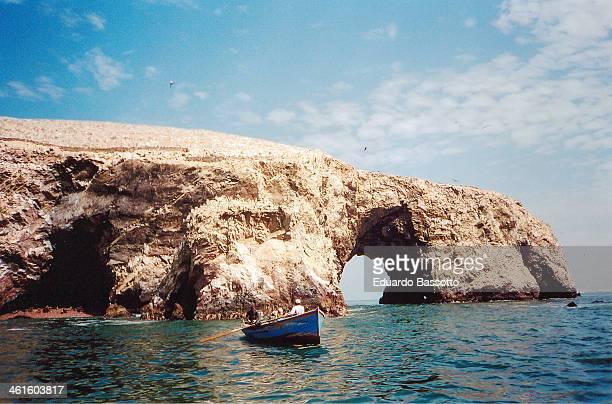 islas ballestras - pisco peru stock photos and pictures