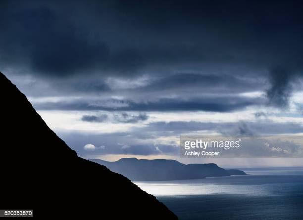 Isle of Rhum from Skye Island