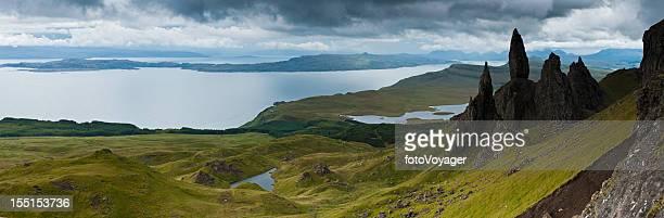 Île de Skye vieil homme Storr Highlands Hébrides Écosse