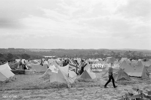 Isle of Wight Festival 1969 held on 29th to 31st August 1969 at the English town of Wootton on the Isle of Wight general scenes Friday 29th August...