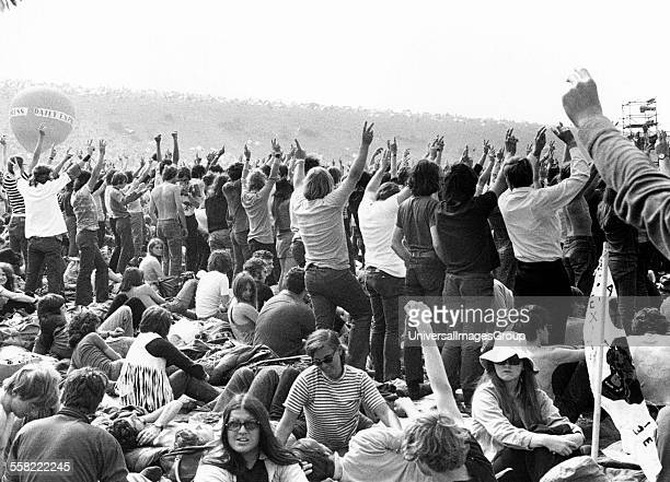 Isle of Wight festival UK 1970
