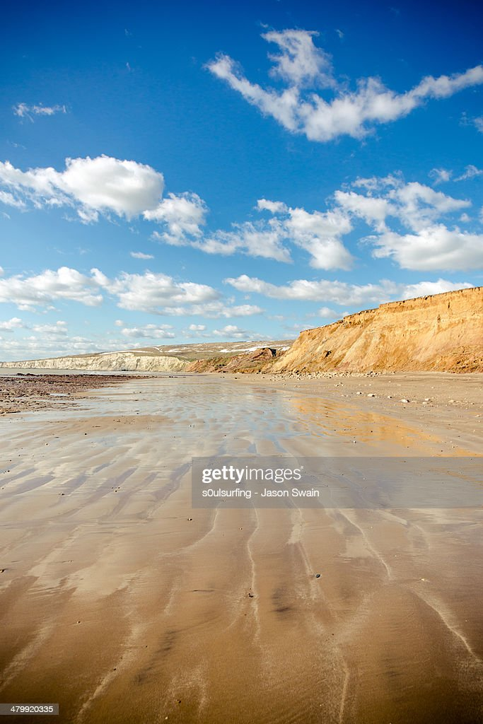 Isle of Wight Lines : Stock Photo