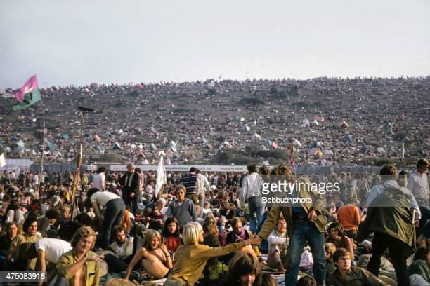 isle of wight music festival, 1970 - isle of wight stock pictures, royalty-free photos & images