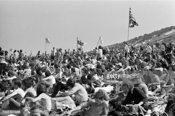 Isle of Wight pop festival 29th August 1970