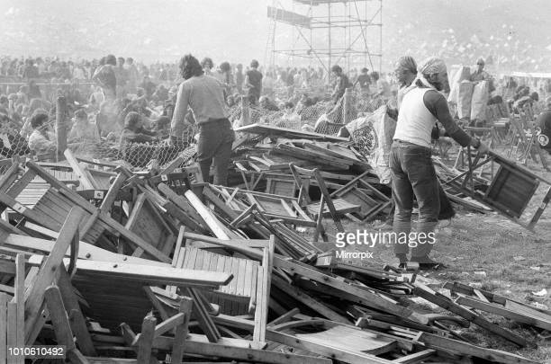 Isle of Wight pop festival, 30th August 1970.