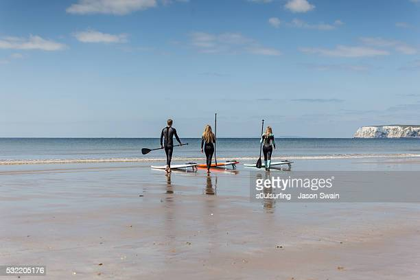 isle of wight stand up paddle board (sup) - s0ulsurfing - fotografias e filmes do acervo