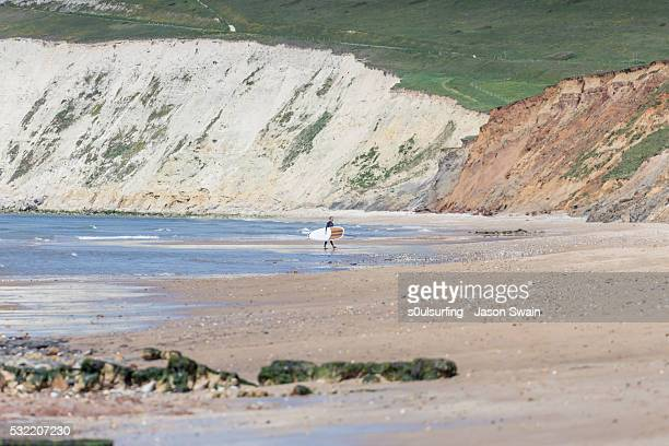 isle of wight stand up paddle board (sup) - s0ulsurfing photos et images de collection