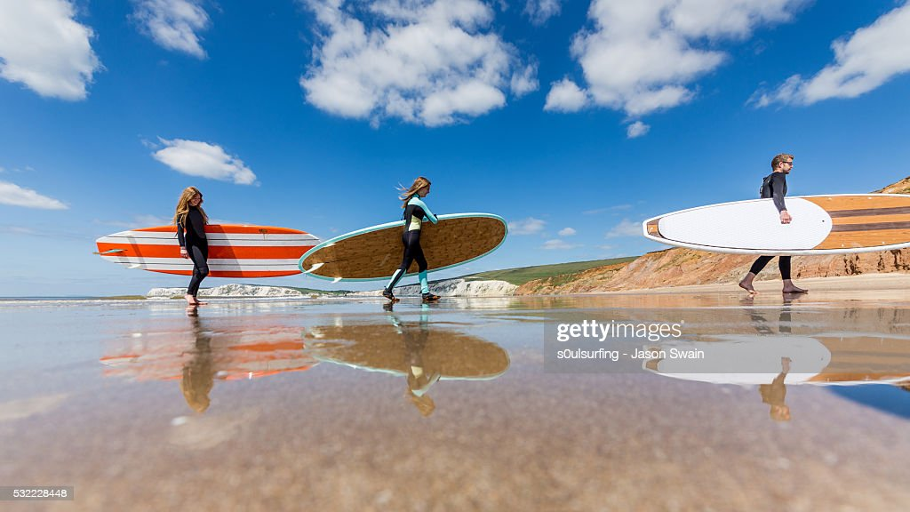 Isle of Wight Stand up paddle board (SUP) : Stock Photo