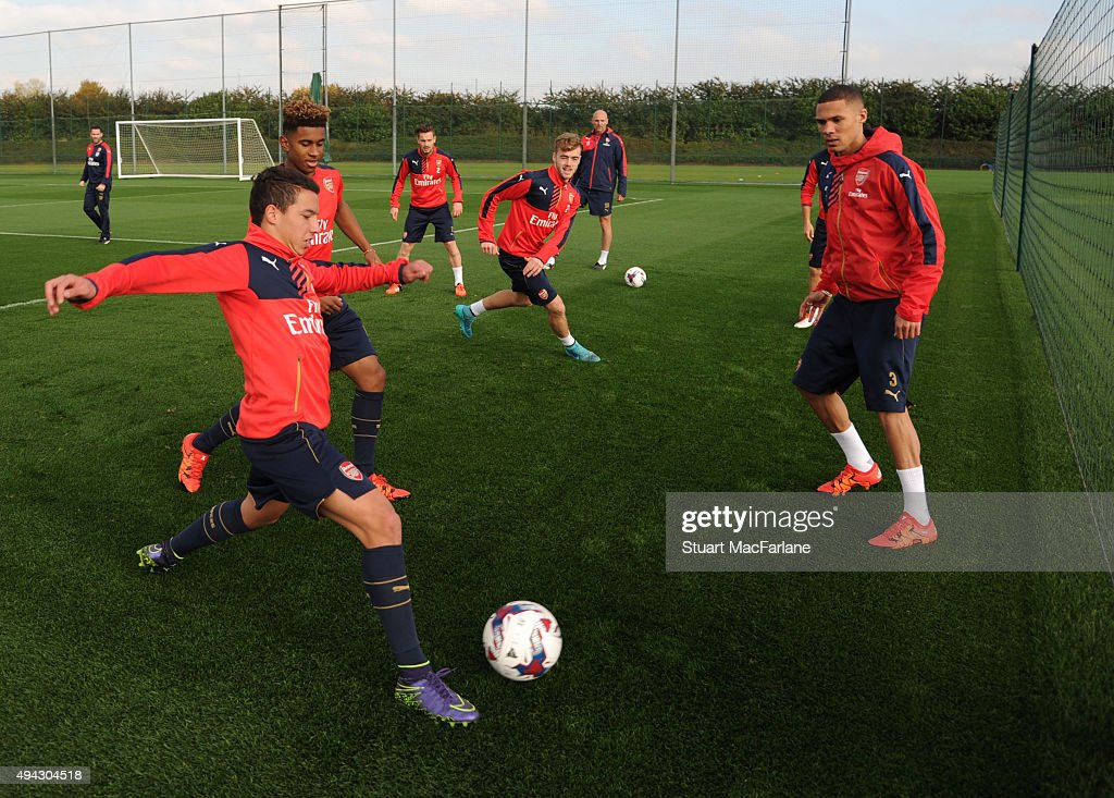 Arsenal Training Session : Photo d'actualité
