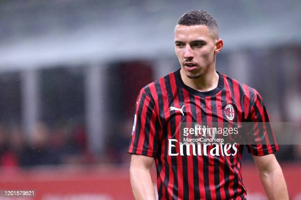 Ismael Bennacer of Ac Milan during the Serie A match between Ac Milan and Torino Fc Ac Milan wins 10 over Torino Fc