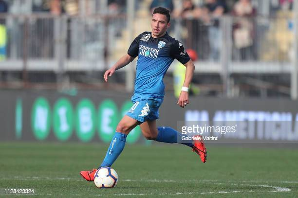 Ismael Bennacer of Empoli FC in action during the Serie A match between Empoli and Parma Calcio at Stadio Carlo Castellani on March 2 2019 in Empoli...