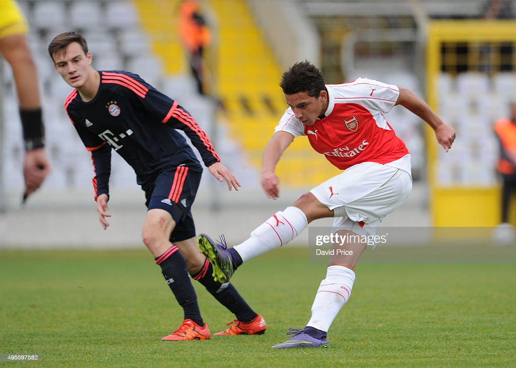 Bayern Munich v Arsenal - UEFA Youth League : News Photo