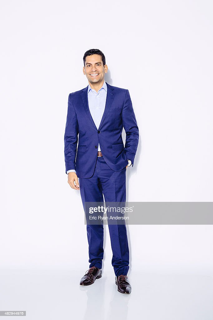 Ismael Cala poses for a portraits at the 2015 Billboard Latin Music Conference for Billboard Magazine on April 29, 2015 in Miami, Florida.