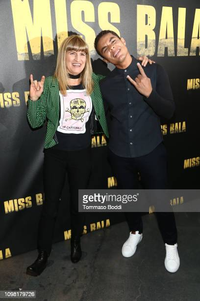 Ismael Cruz Cordova and Catherine Hardwicke attend the Sony Pictures Entertainment NALIP Presents LatinX Representation In Entertainment Panel And...