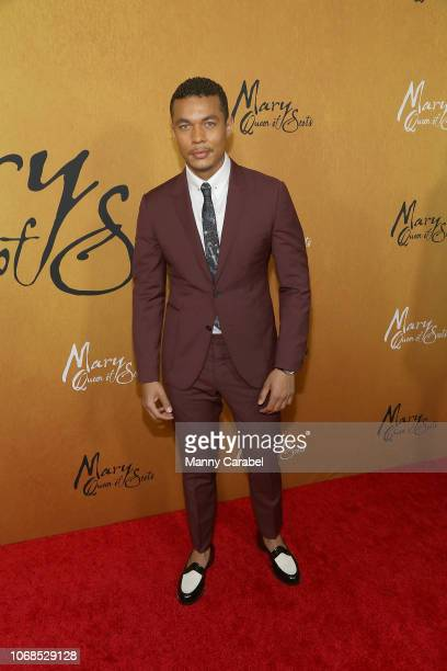 Ismael Cruz Cordova attends the Mary Queen of Scots New York Premiere at the Paris Theater on December 4 2018 in New York City