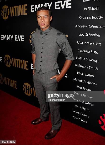 Ismael Cruz Cordova attends the Showtime Emmy Eve Party at Sunset Tower on September 17 2016 in West Hollywood California