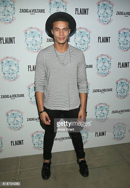 Ismael Cruz Cordova attends the Zadig Voltaire and Flaunt Celebration of The FW16 Collection and The Oh La La Land Issue Ouest Coast at Zadig...