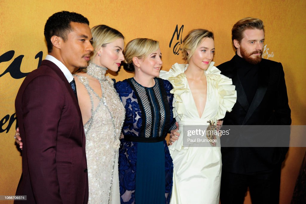 Focus Features Hosts The New York Premiere Of Mary Queen Of Scots' : News Photo