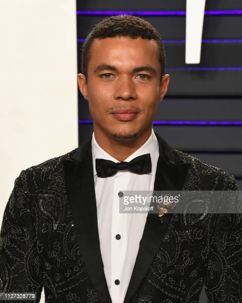 Ismael Cruz Córdova attends the 2019 Vanity Fair Oscar Party hosted by Radhika Jones at Wallis Annenberg Center for the Performing Arts on February...