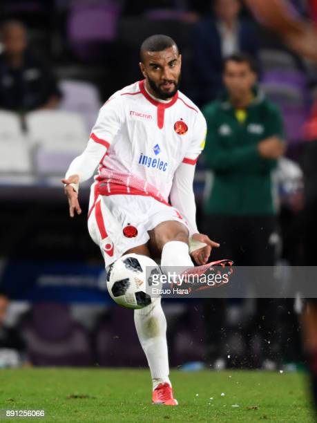 Ismail El Haddad of Wydad Casablanca in action during the FIFA Club World Cup UAE 2017 Match for 5th Place between Wydad Casablanca and Urawa Reds at...
