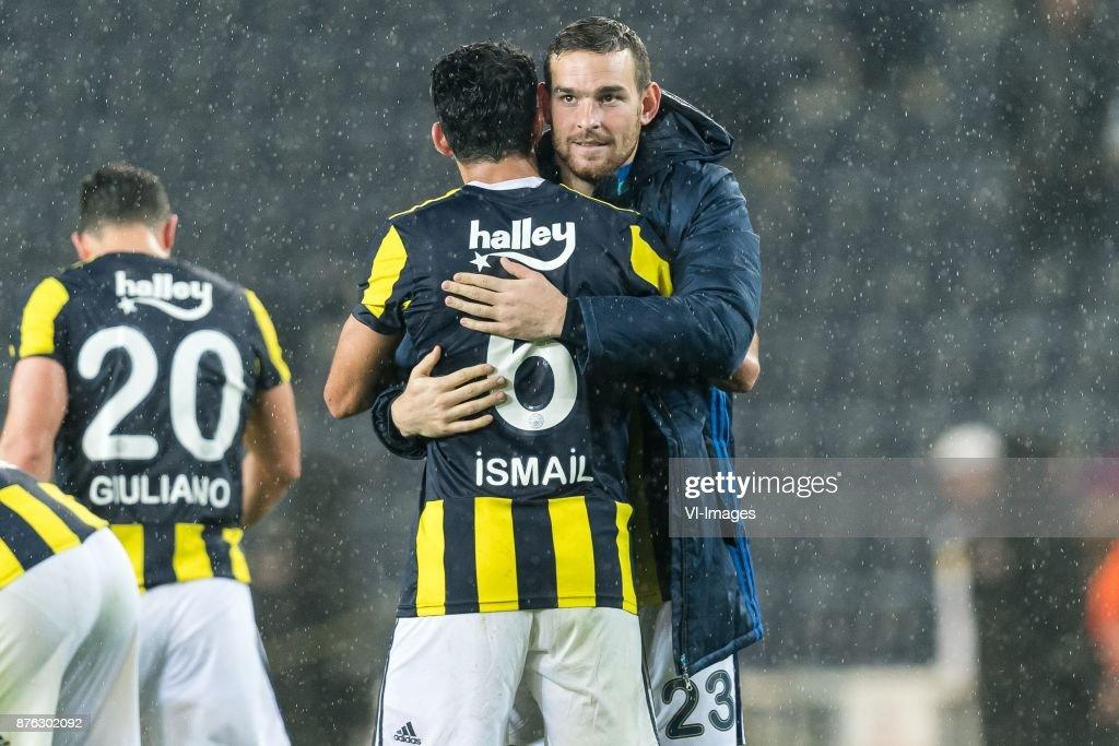 Ismail Koybasi Of Fenerbahce SK, Vincent Janssen Of