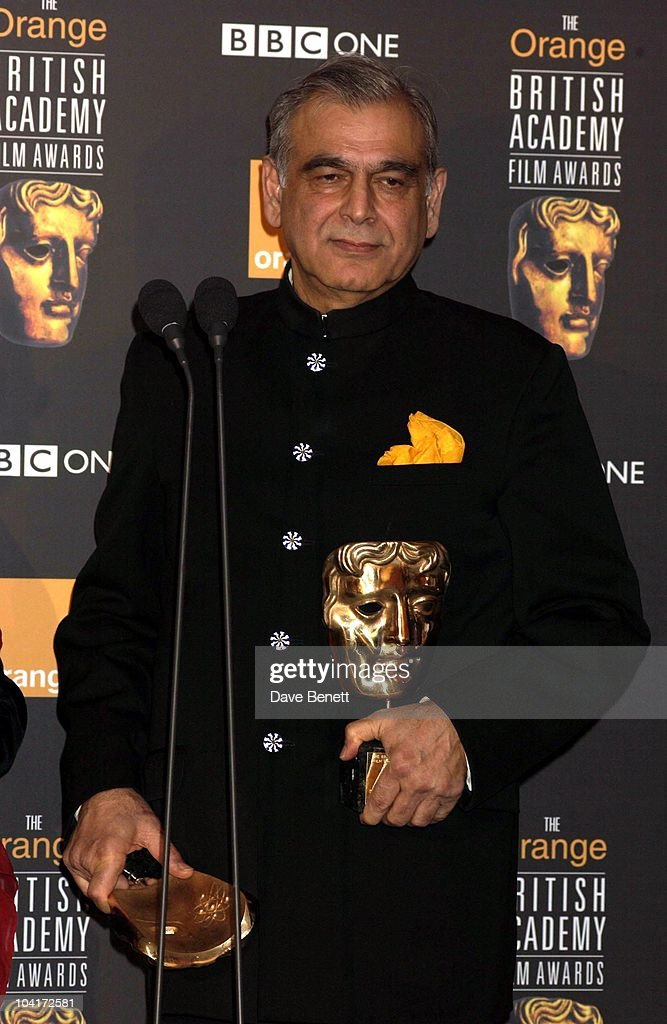 Ismail Merchant, The Orange British Academy Film Awards (bafta) 2002, At The Odeon, Leicester Square, London