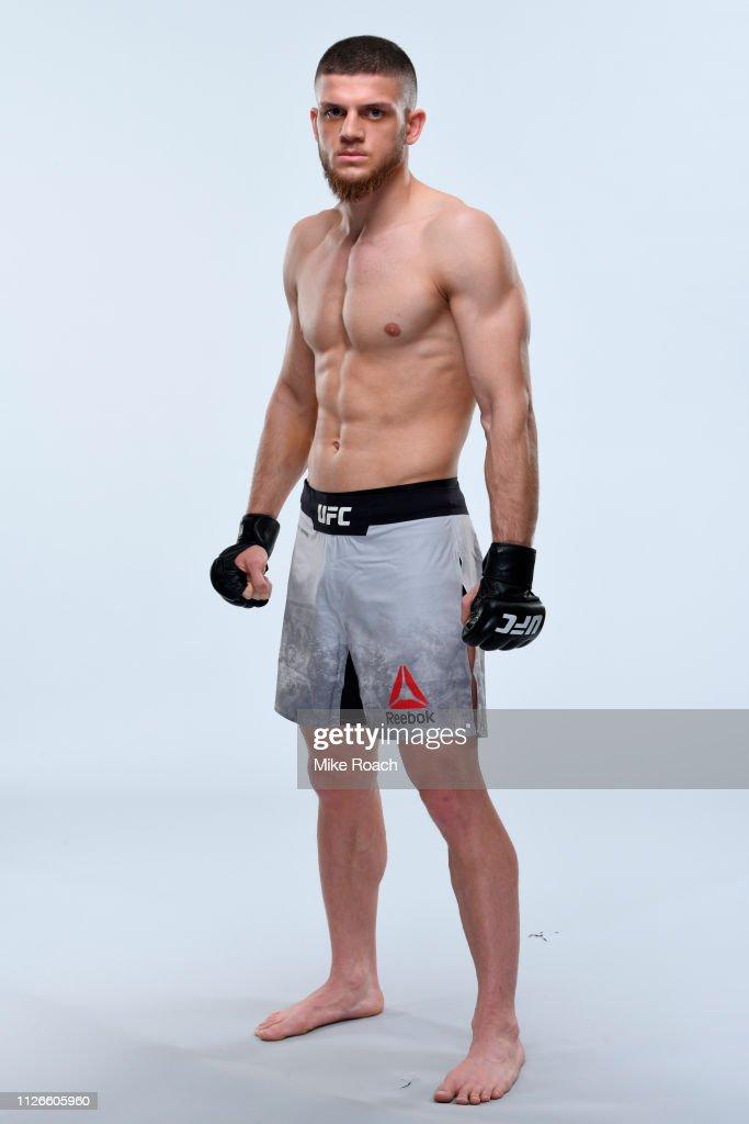 UFC Fighter Portraits : News Photo