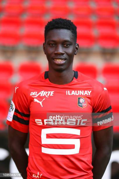 Ismaila Sarr of Rennes during the Rennes Photoshooting on September 17 2018 in Rennes France