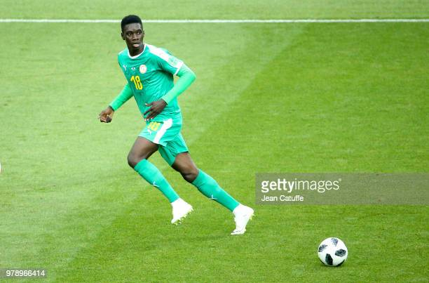 Ismaila Sarr of Senegal during the 2018 FIFA World Cup Russia group H match between Poland and Senegal at Spartak Stadium on June 19 2018 in Moscow...