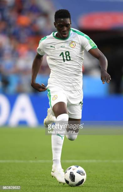 Ismaila Sarr of Senegal in action during the 2018 FIFA World Cup Russia group H match between Japan and Senegal at Ekaterinburg Arena on June 24 2018...