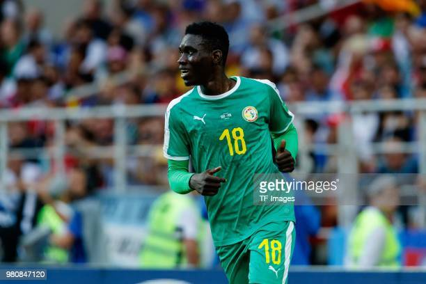 Ismaila Sarr of Senegal looks on during the 2018 FIFA World Cup Russia group H match between Poland and Senegal at Spartak Stadium on June 19 2018 in...