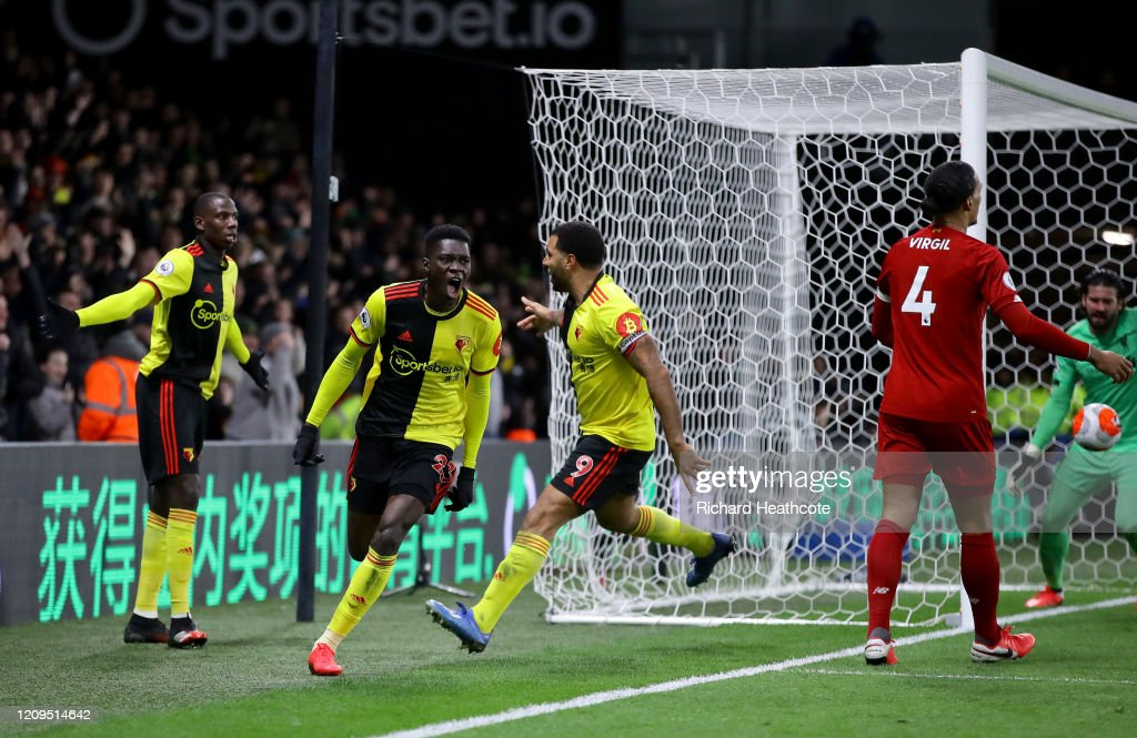Watford FC v Liverpool FC - Premier League : News Photo