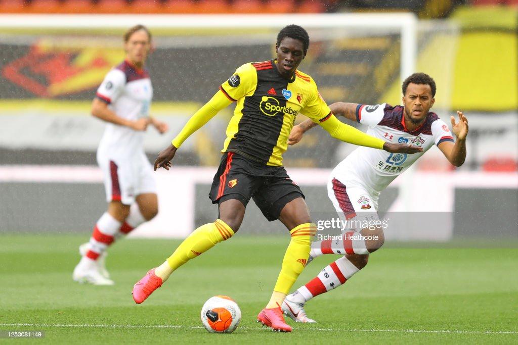 Watford FC v Southampton FC - Premier League : Nachrichtenfoto
