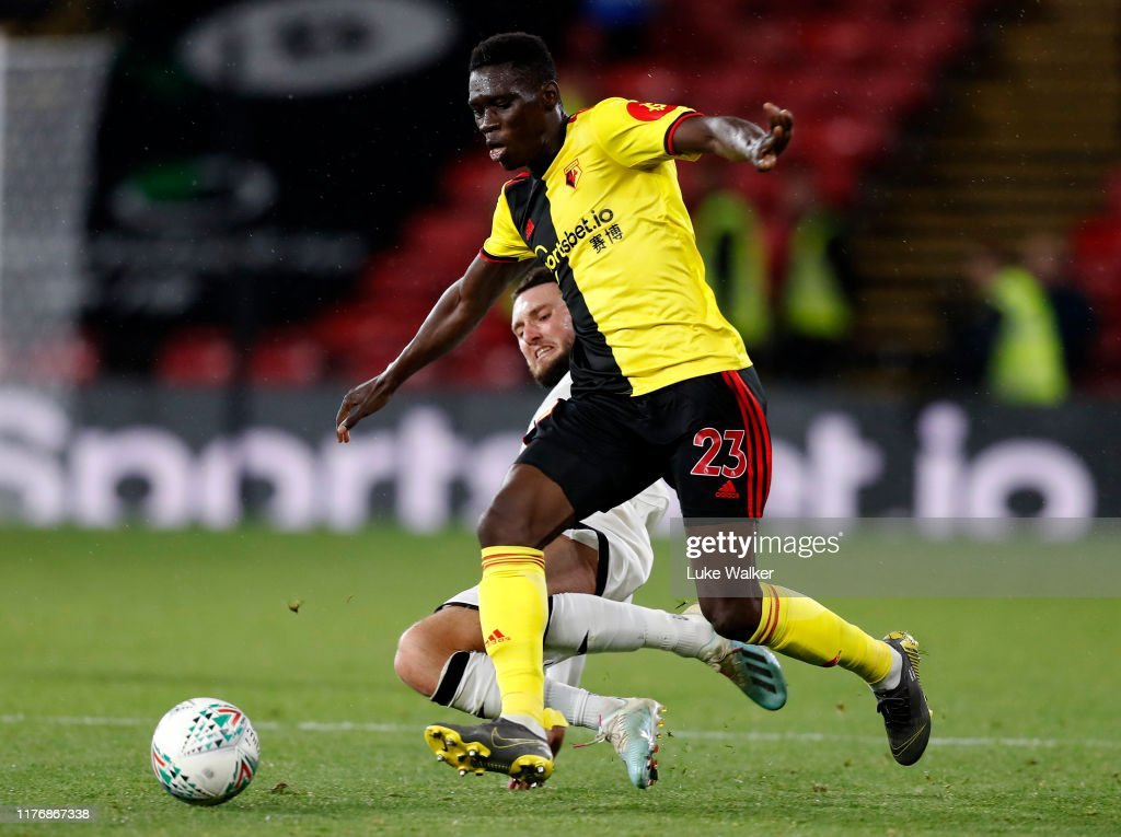 Watford FC v Swansea City - Carabao Cup Third Round : News Photo