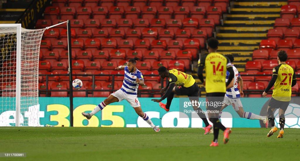 Watford v Reading - Sky Bet Championship : News Photo