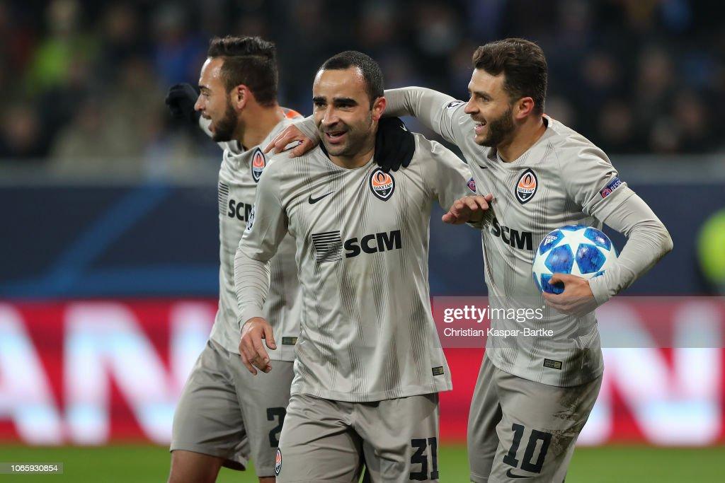 TSG 1899 Hoffenheim v FC Shakhtar Donetsk - UEFA Champions League Group F : News Photo
