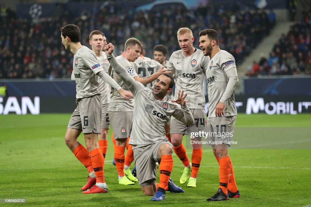 TSG 1899 Hoffenheim v FC Shakhtar Donetsk - UEFA Champions League Group F : News Photo