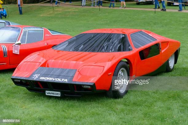 iso rivolta varede futuristic 1972 concept car - futuristic car stock pictures, royalty-free photos & images