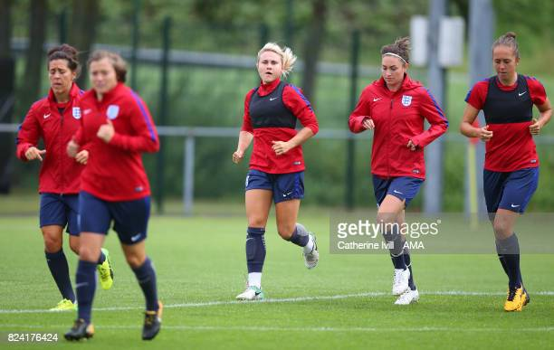 Isobel Christiansen of England Women during the England Women's Training Session on July 29 2017 in Utrecht Netherlands