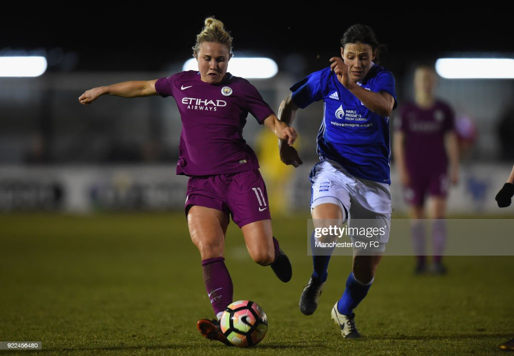 Birmingham City Ladies v Manchester City Women - WSL : News Photo