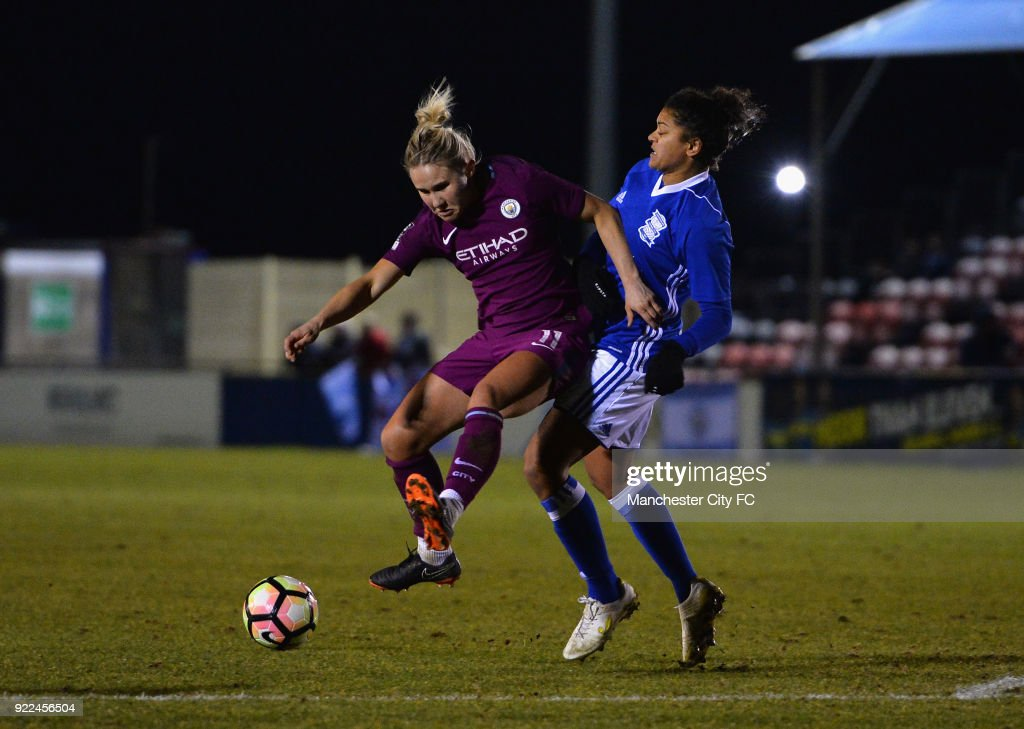 Birmingham City Ladies v Manchester City Women - WSL : Nachrichtenfoto