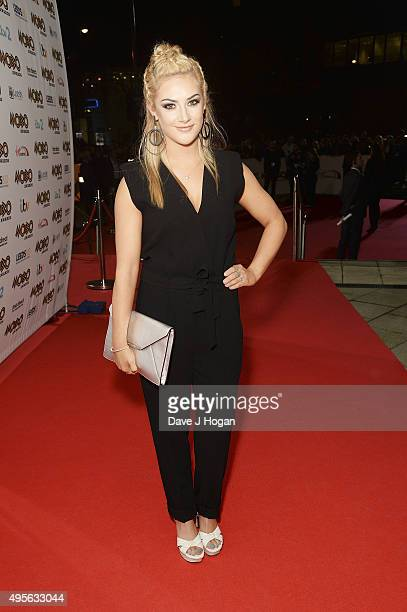 Isobel Hodgkins attends the MOBO Awards at First Direct Arena on November 4, 2015 in Leeds, England.