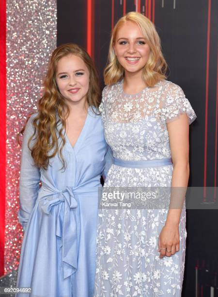Isobel Steele and Eden Taylor-Draper attend the British Soap Awards at The Lowry Theatre on June 3, 2017 in Manchester, England.