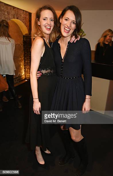 Isobel WallerBridge and Phoebe WallerBridge attend an after party celebrating the World Premiere of 'The End Of Longing' written by and starring...